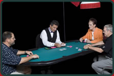 Casino Event Texas Hold'Em Table