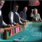 Casino event Craps table
