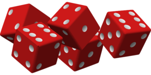 Casino Prizes -Red dice