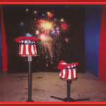 Carnival Event Fireworks and 4th of July hat