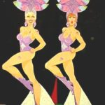 Event themes Las Vegas Show girls cut outs